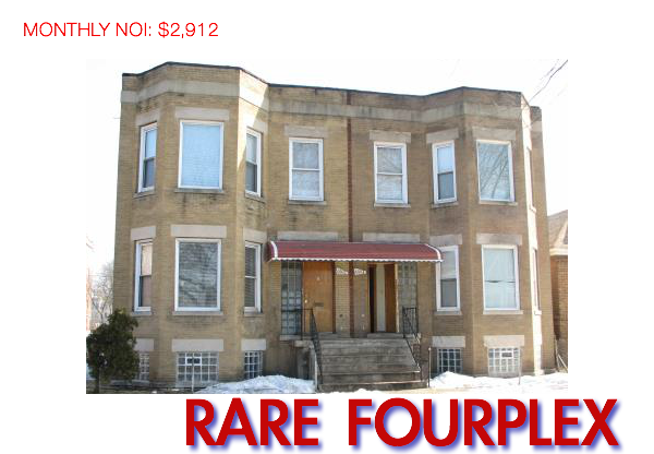 buy a fourplex in chicago