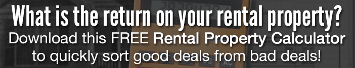 Calculate the renturn on your rental property with our FREE Rental Property Calculator