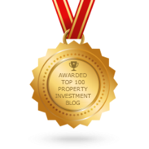 Awarded Top 100 Property Investment Blog Badge By Feedspot