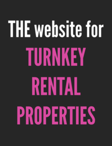 The website for turnkey rental properties
